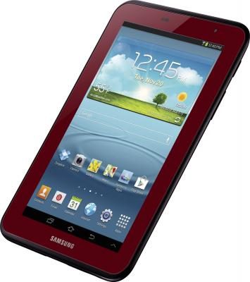 Планшет Samsung Galaxy Tab 2 7.0 8GB 3G Garnet Red (GT-P3100) - общий вид