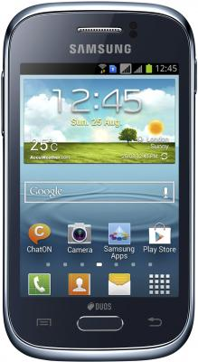 Смартфон Samsung S6312 Galaxy Young Dark Blue (GT-S6312 DBASER) - общий вид