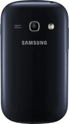 Смартфон Samsung Galaxy Fame / S6810 (синий) - задняя крышка