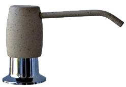 Дозатор встраиваемый в мойку Florentina FR-00505 Gray - общий вид