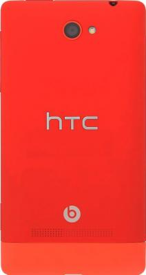 Смартфон HTC Windows Phone 8S Red - задняя крашка