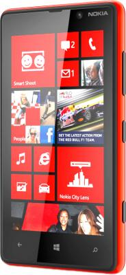Смартфон HTC Windows Phone 8S Red - общий вид