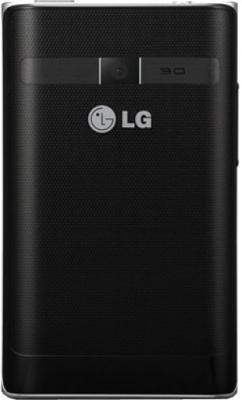 Смартфон LG Optimus L3 II Dual / E435 (черный) - задняя панель