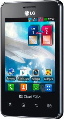 Смартфон LG Optimus L3 II Dual / E435 (черный) - общий вид