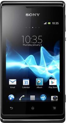 Смартфон Sony Xperia E Dual (C1605) Black - общий вид