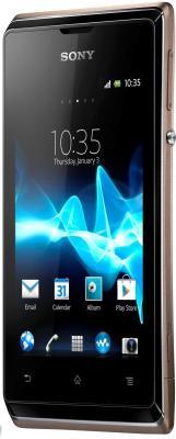 Смартфон Sony Xperia E Dual (C1605) Champagne - общий вид