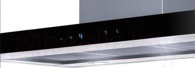 Вытяжка Т-образная Ciarko Quatro Slim (60, черный)