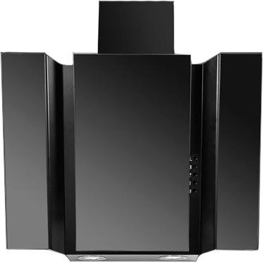 Вытяжка декоративная Ciarko Specjal Star (60 Black Glass Gray) - общий вид