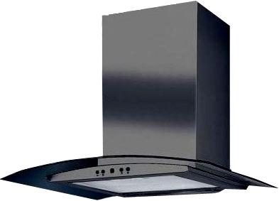 Вытяжка купольная Ciarko Sigma (70, черный) - общий вид