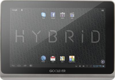 Планшет GoClever TAB HYBRID + 3G - фронтальный вид