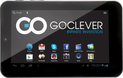 Планшет GoClever TAB M703G - фронтальный вид