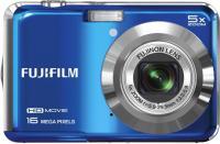 Компактный фотоаппарат Fujifilm FinePix AX650 Blue - вид спереди