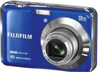 Компактный фотоаппарат Fujifilm FinePix AX650 Blue - общий вид