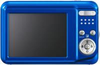 Компактный фотоаппарат Fujifilm FinePix AX650 Blue - вид сзади