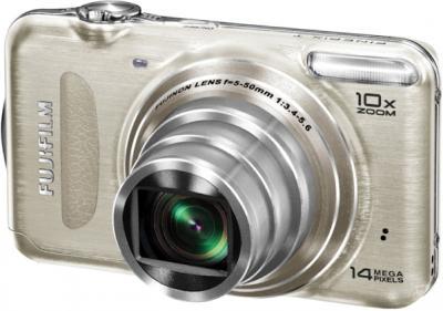 Компактный фотоаппарат Fujifilm FinePix T200 Gold - общий вид