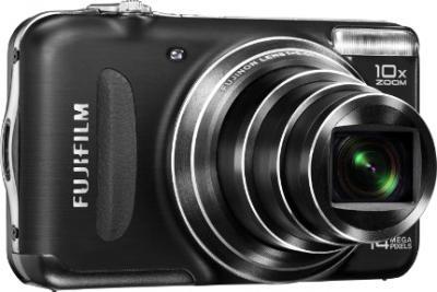 Компактный фотоаппарат Fujifilm FinePix T210 Black - общий вид