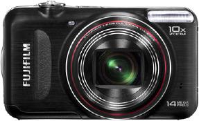 Компактный фотоаппарат Fujifilm FinePix T210 Black - вид спереди