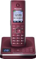 Беспроводной телефон Panasonic KX-TG8561  (красный) -
