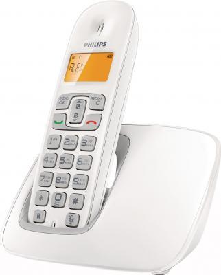 Беспроводной телефон Philips CD1901 White - вид сбоку