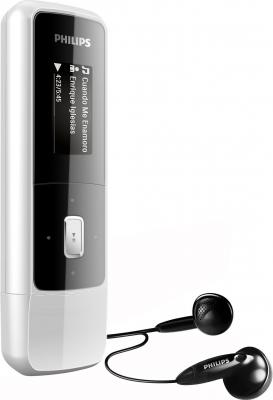 MP3-плеер Philips GoGear Mix SA3MXX04K/97 Black - вид сбоку