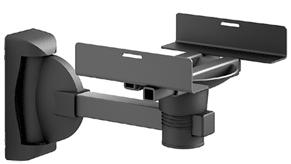 Кронштейн под аппаратуру Electric Light КБ-01-18 Black - общий вид