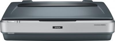 Планшетный сканер Epson Expression 10000 XL - фронтальный вид