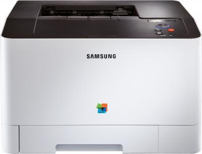 Принтер Samsung CLP-415NW - фронтальный вид
