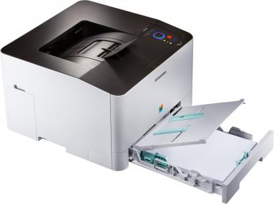 Принтер Samsung CLP-415NW - лоток для бумаги