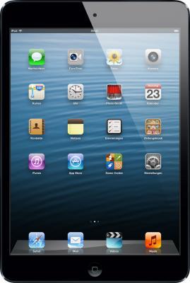 Планшет Apple iPad mini 16GB 4G Black (MD540ZP/A) - фронтальный вид