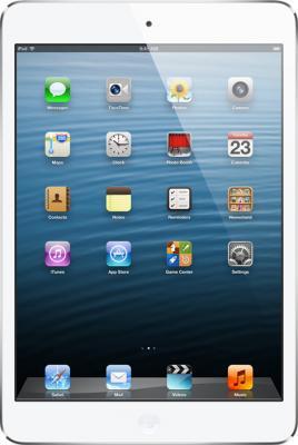 Планшет Apple iPad mini 16GB 4G White (MD543ZP/A) - фронтальный вид