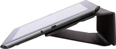Чехол для планшета Case Logic IFOL-307K - вид сбоку с iPad mini