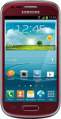 Смартфон Samsung i8190 Galaxy S III mini (8Gb) Red (GT-I8190 GRASER) - общий вид