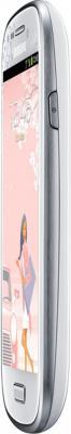 Смартфон Samsung I8190 Galaxy S III mini La FLeur (8Gb) White (GT-I8190 ZWZSER) - боковая панель