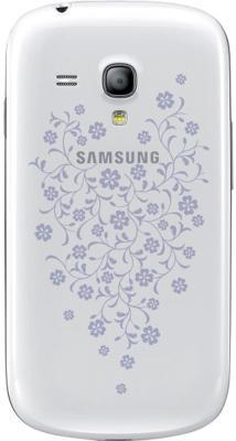 Смартфон Samsung I8190 Galaxy S III mini La FLeur (8Gb) White (GT-I8190 ZWZSER) - задняя крышка