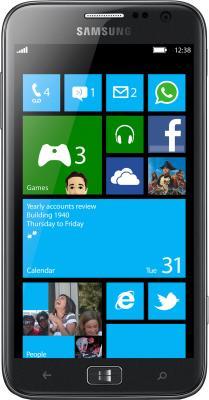 Смартфон Samsung I8750 ATIV S (16 Gb) Silver (GT-I8750 ALASER) - общий вид