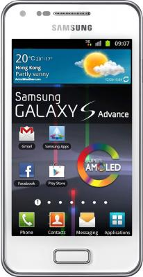 Смартфон Samsung I9070 Galaxy S Advance (8Gb) White (GT-I9070 RWASER) - общий вид