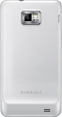 Смартфон Samsung I9105 Galaxy S II Plus White (GT-I9105 CWDSER) - задняя крышка