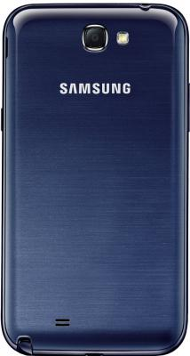 Смартфон Samsung N7100 Galaxy Note II (16Gb) Blue (GT-N7100 ZBDSER) - задняя крышка