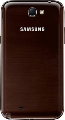 Смартфон Samsung N7100 Galaxy Note II (16Gb) Brown (GT-N7100 ZNDSER) - задняя панель