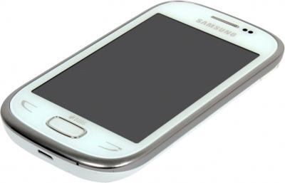 Мобильный телефон Samsung Rex 90 / S5292 (белый) - общий вид