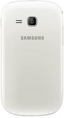 Мобильный телефон Samsung Rex 90 / S5292 (белый) - задняя панель