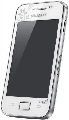 Смартфон Samsung S5830 Galaxy Ace La Fleur White (GT-S5830 UWZSER) - общий вид