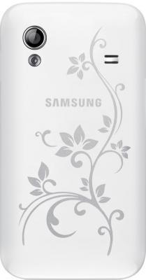 Смартфон Samsung S5830 Galaxy Ace La Fleur White (GT-S5830 UWZSER) - задняя крышка
