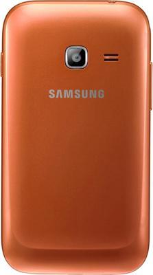 Смартфон Samsung Galaxy Ace Duos / S6802 (оранжевый) - задняя крышка