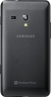 Мобильный телефон Samsung S7530 Omnia M Gray (GT-S7530 EAASER) - задняя крышка