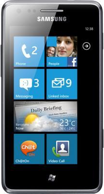 Мобильный телефон Samsung S7530 Omnia M Gray (GT-S7530 EAASER) - общий вид