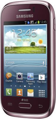Мобильный телефон Samsung C3312 Champ Deluxe Duos Red (GT-C3312 MRRSER) - общий вид