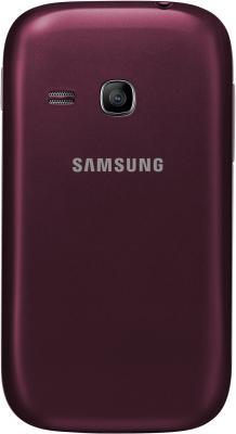 Мобильный телефон Samsung C3312 Champ Deluxe Duos Red (GT-C3312 MRRSER) - задняя крашка