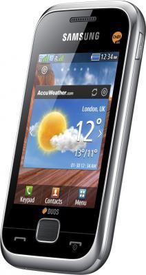 Мобильный телефон Samsung C3312 Champ Deluxe Duos Silver (GT-C3312 ZSRSER) - общий вид