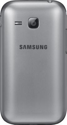 Мобильный телефон Samsung C3312 Champ Deluxe Duos Silver (GT-C3312 ZSRSER) - задняя панель